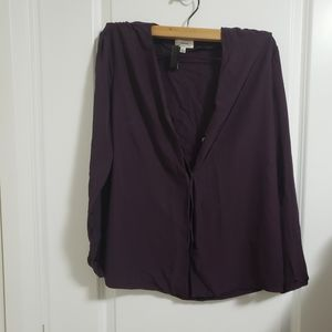 Wilfred burgundy top